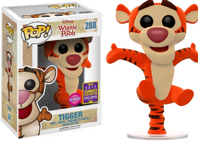 Photo du produit SDCC 2017 FUNKO POP FLOCKED TIGGER EXCLUSIVE (emballage endommagé)