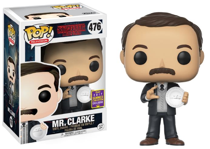 Photo du produit SDCC 2017 FUNKO POP STRANGER THINGS: MR. CLARKE EXCLUSIVE - STRANGER THINGS