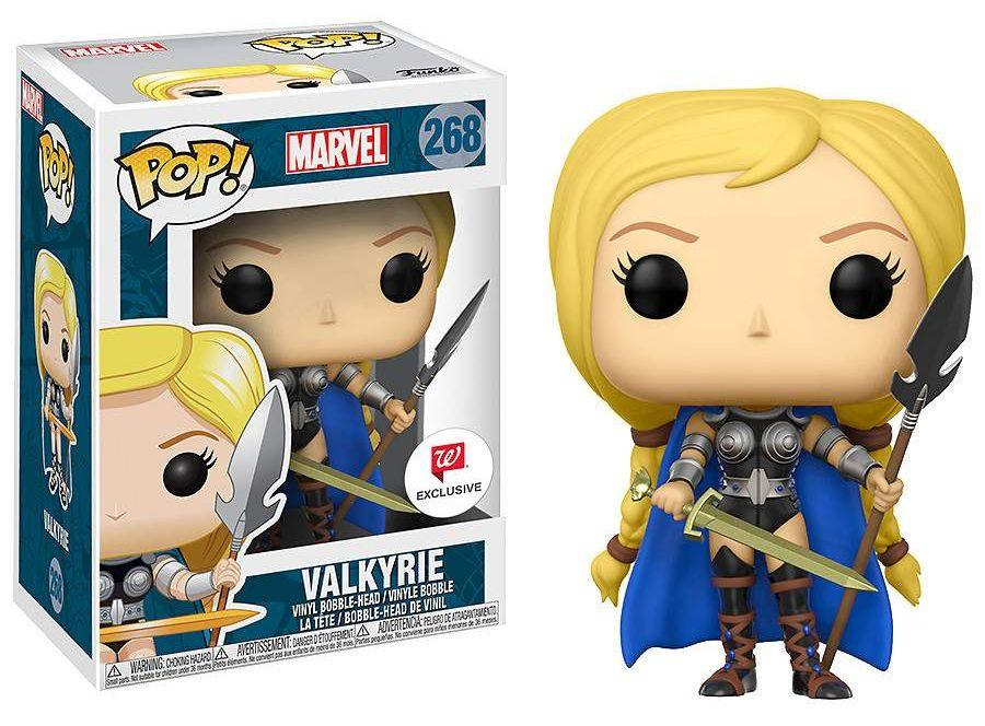 Photo du produit MARVEL COMICS FIGURINE FUNKO POP! HEROES VINYL VALKYRIE