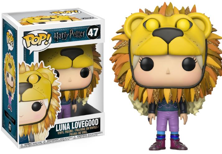 Photo du produit HARRY POTTER FUNKO POP LUNA LOVEGOOD WITH LION'S HEAD