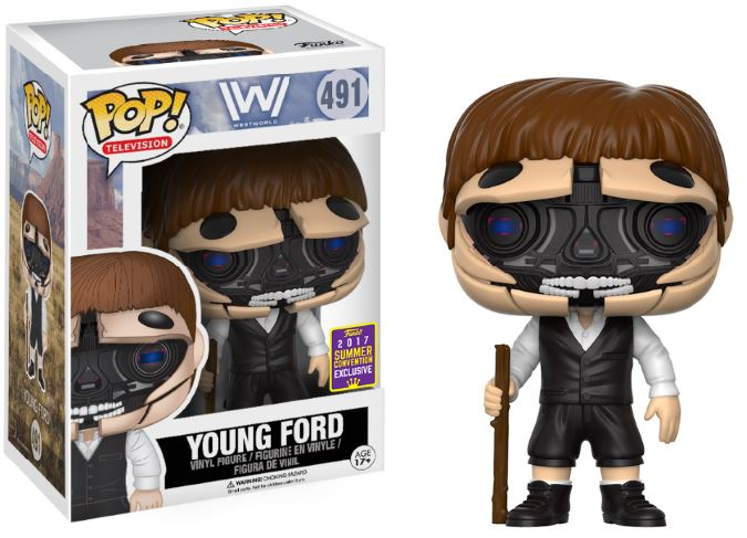 Photo du produit SDCC 2017 FUNKO POP YOUNG FORD EXCLUSIVE - WEST WORLD