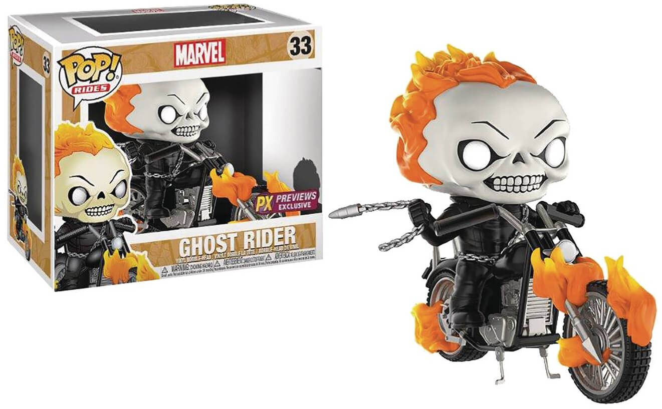 Photo du produit MARVEL FUNKO POP RIDES CLASSIC GHOST RIDER