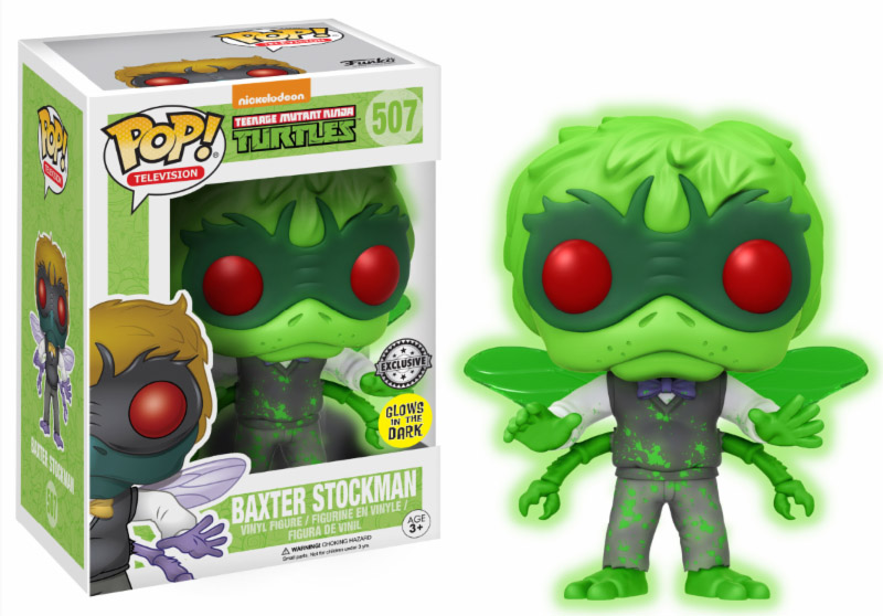 Photo du produit TMNT FUNKO POP BAXTER STOCKMAN GLOW IN THE DARK