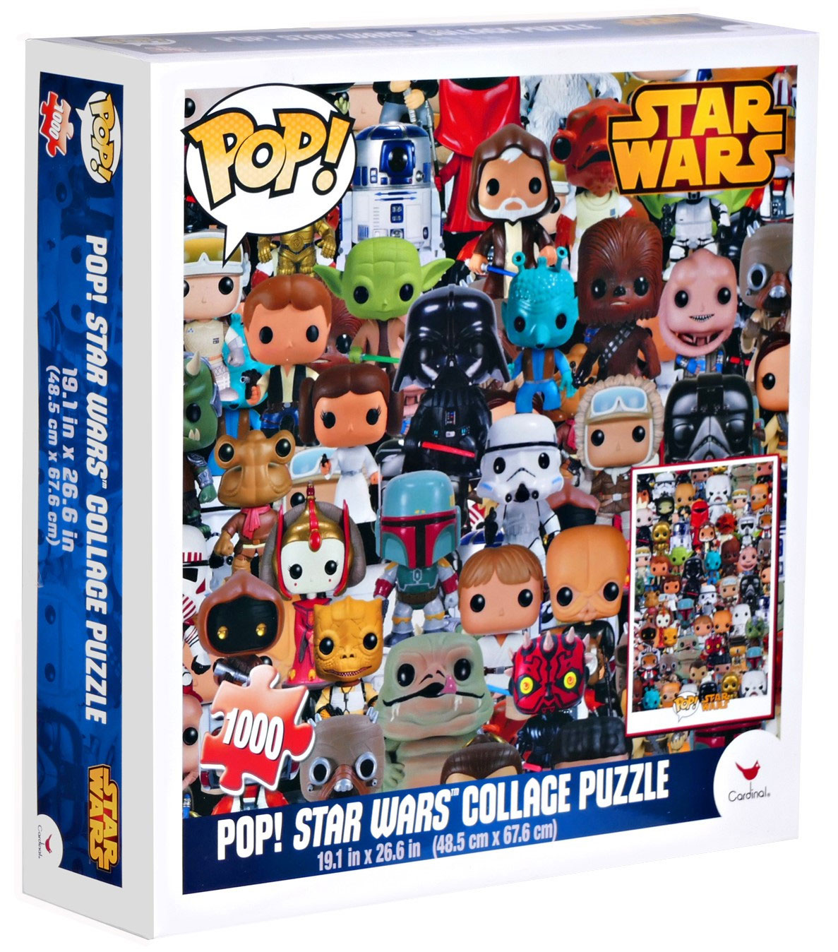Photo du produit STAR WARS POP! PUZZLE COLLAGE (1000 PIECES)