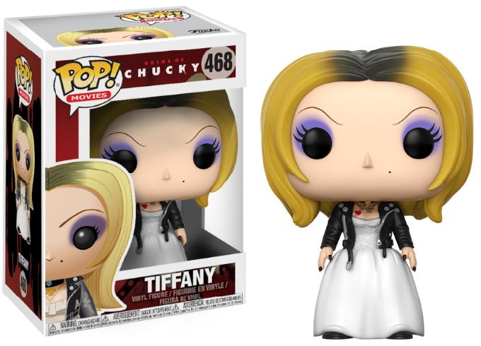 Photo du produit LA FIANCEE DE CHUCKY FUNKO POP! TIFFANY