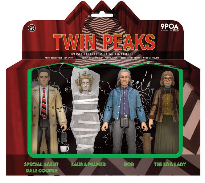 Photo du produit FUNKO REACTION TWIN PEAKS PACK 4 FIGURINES 10 CM