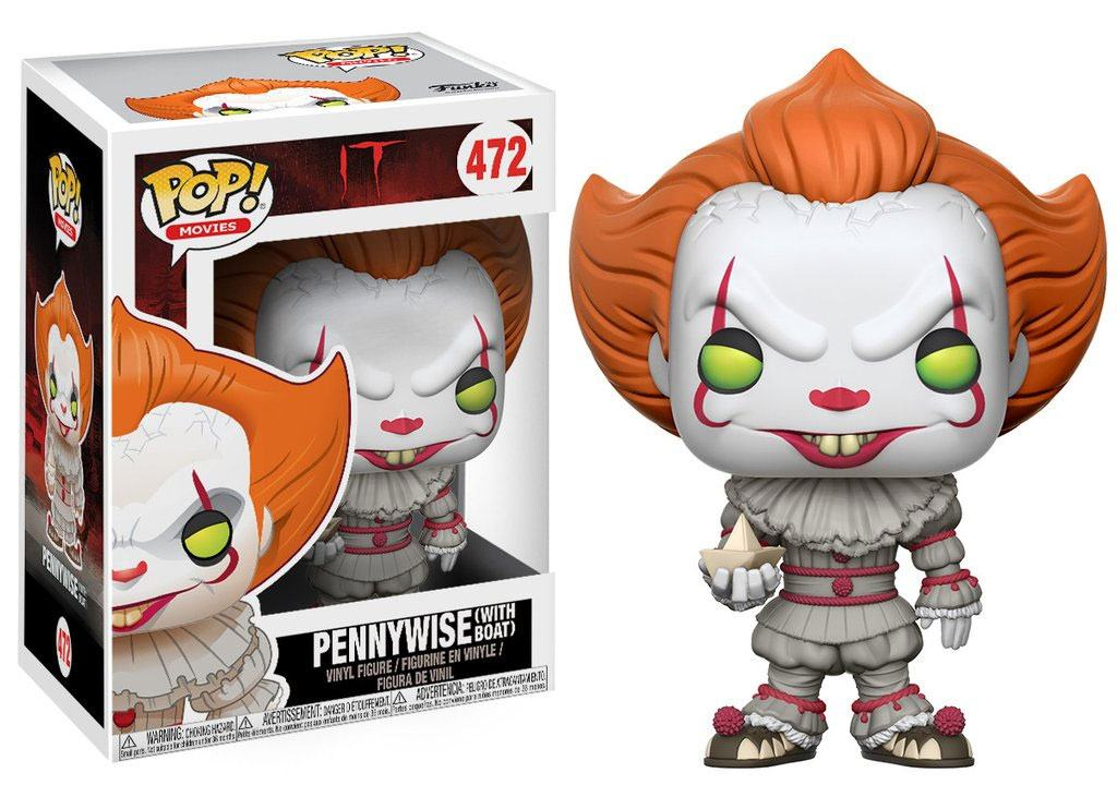 Photo du produit FUNKO POP PENNYWISE (WITH BOAT) - FILM CA (IT)