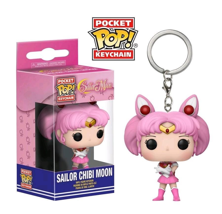 Photo du produit SAILOR MOON PORTE-CLES POCKET POP! VINYL SAILOR CHIBI MOON