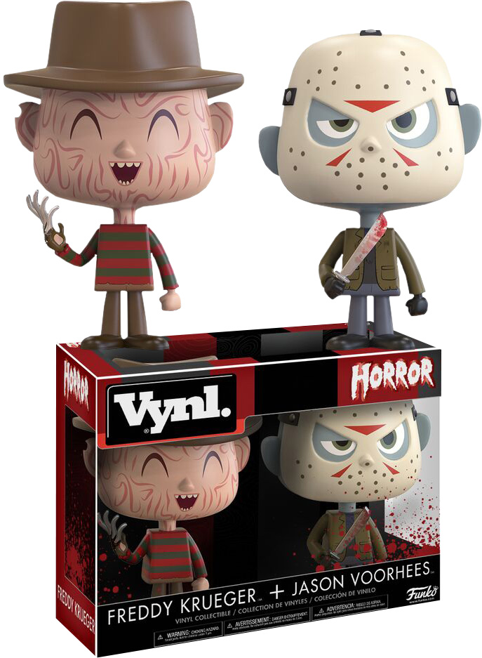 Photo du produit HORROR - FIGURINES FREDDY & JASON VYNL 2-PACK