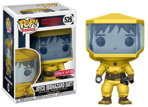 Photo du produit FUNKO POP STRANGER THINGS JOYCE IN BIO HAZARD SUIT (EXCLUSIVE)