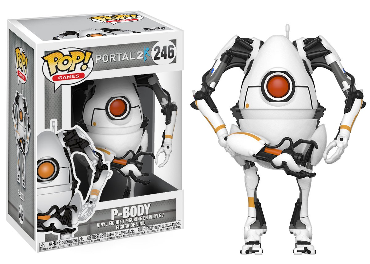 Photo du produit PORTAL 2 FUNKO POP GAMES P-BODY
