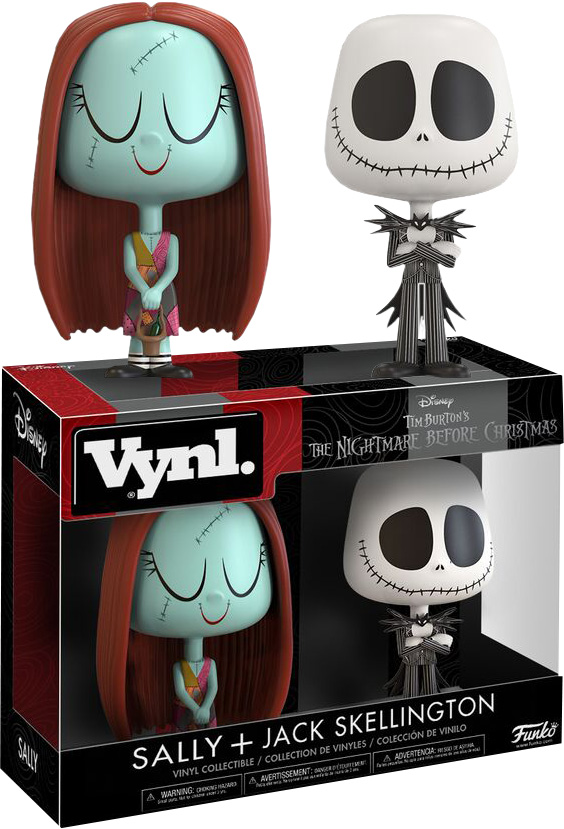 Photo du produit THE NIGHTMARE BEFORE CHRISTMAS - JACK AND SALLY VYNL 2-PACK