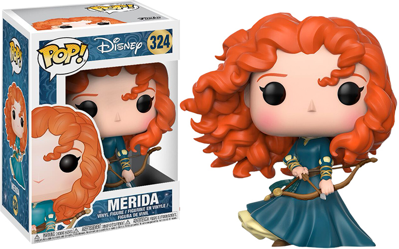 Photo du produit DISNEY PRINCESSES FIGURINE FUNKO POP! MERIDA