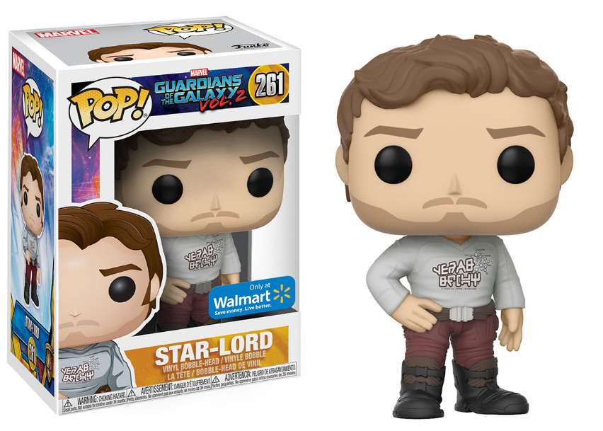 Photo du produit LES GARDIENS DE LA GALAXIE 2 FUNKO POP STAR-LORD