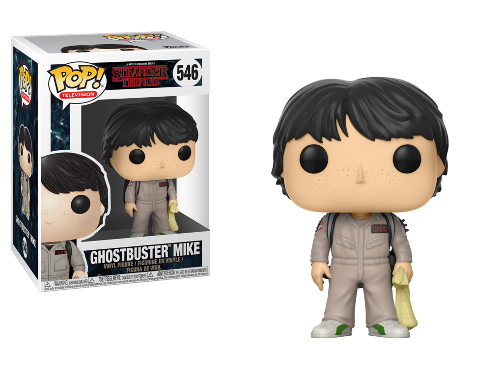 Photo du produit FIGURINE FUNKO POP STRANGER THINGS MIKE GHOSTBUSTER