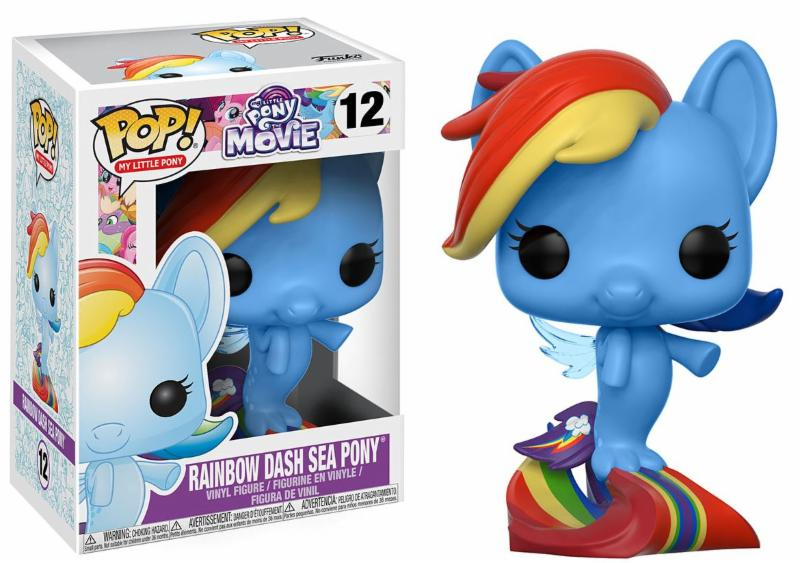 Photo du produit MON PETIT PONEY FUNKO POP! RAINBOW DASH SEA PONY