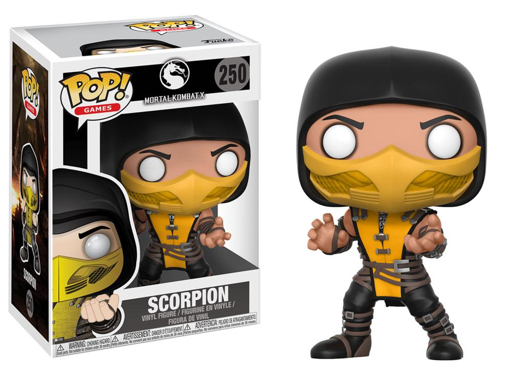Photo du produit FUNKO POP MORTAL KOMBAT SCORPION