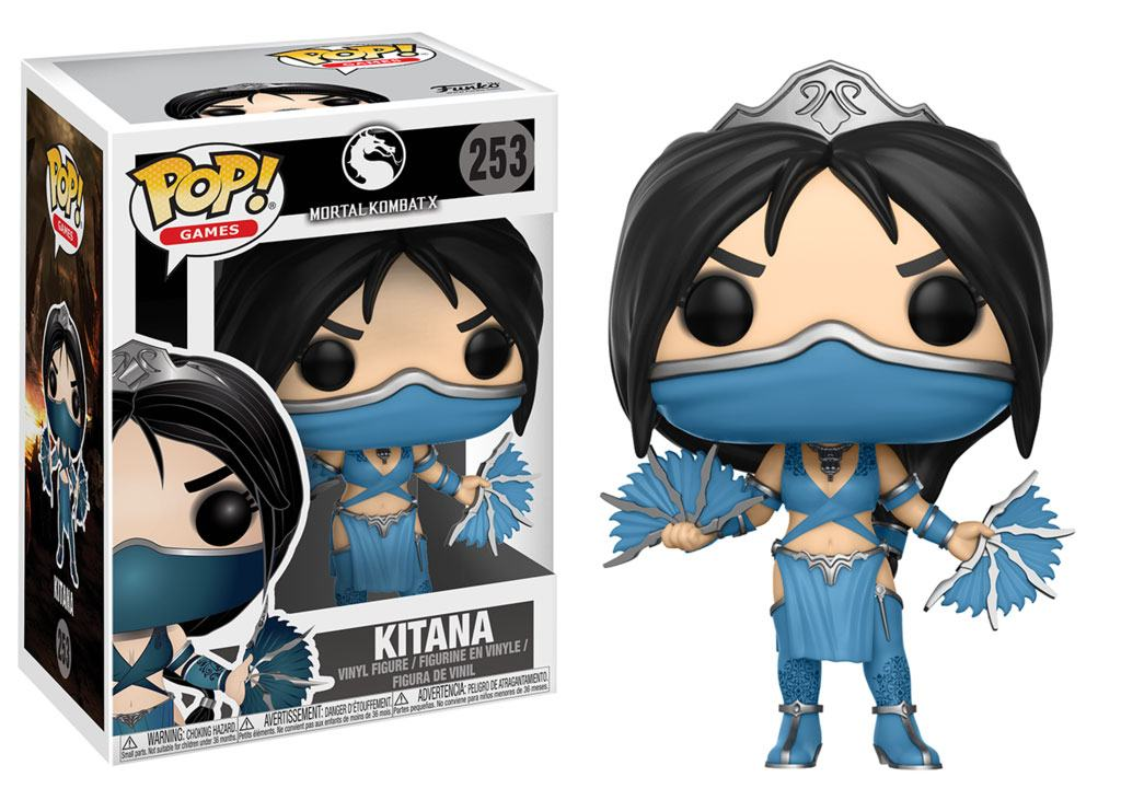 Photo du produit FUNKO POP MORTAL KOMBAT KITANA