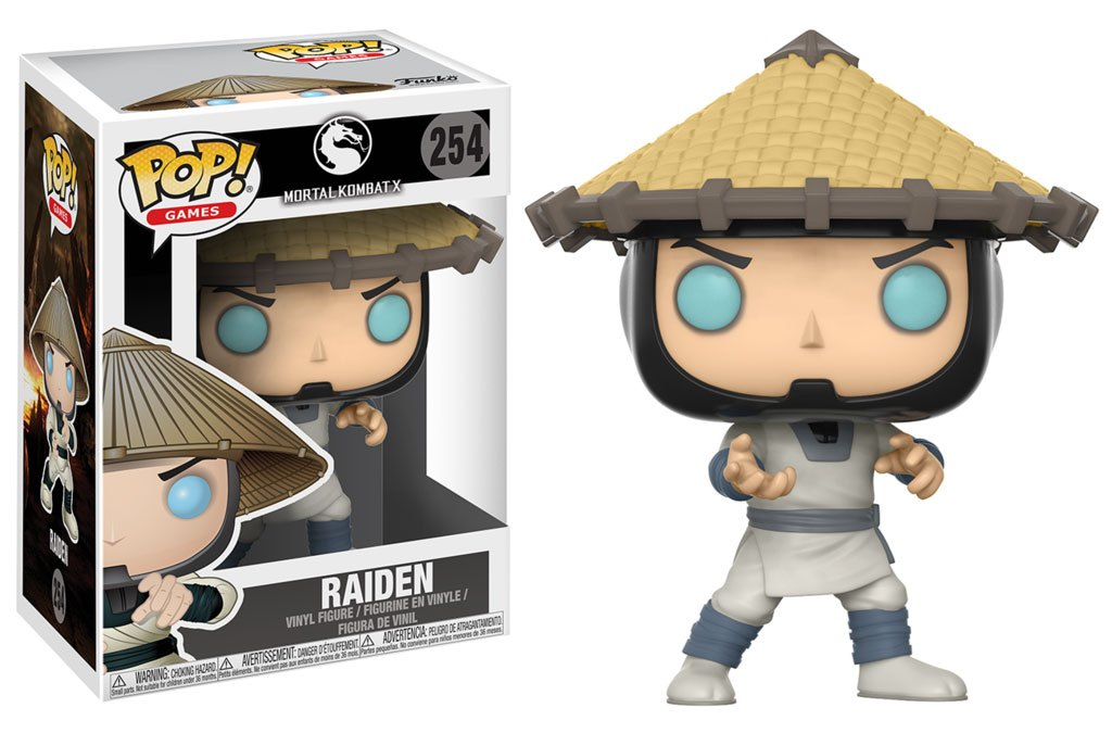 Photo du produit FUNKO POP MORTAL KOMBAT RAIDEN