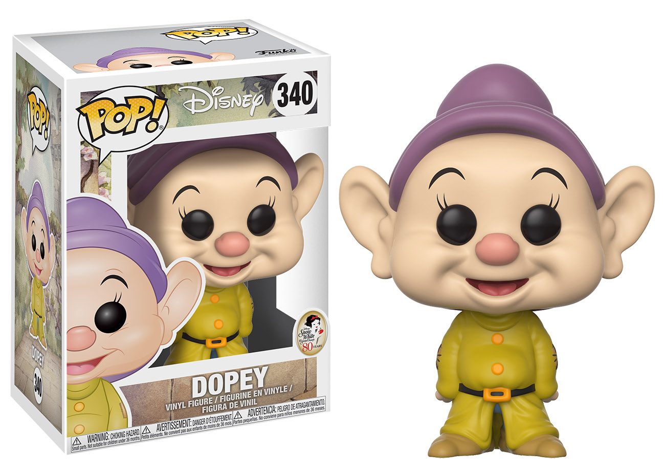 Photo du produit DISNEY FUNKO POP SIMPLET - BLANCHE NEIGE