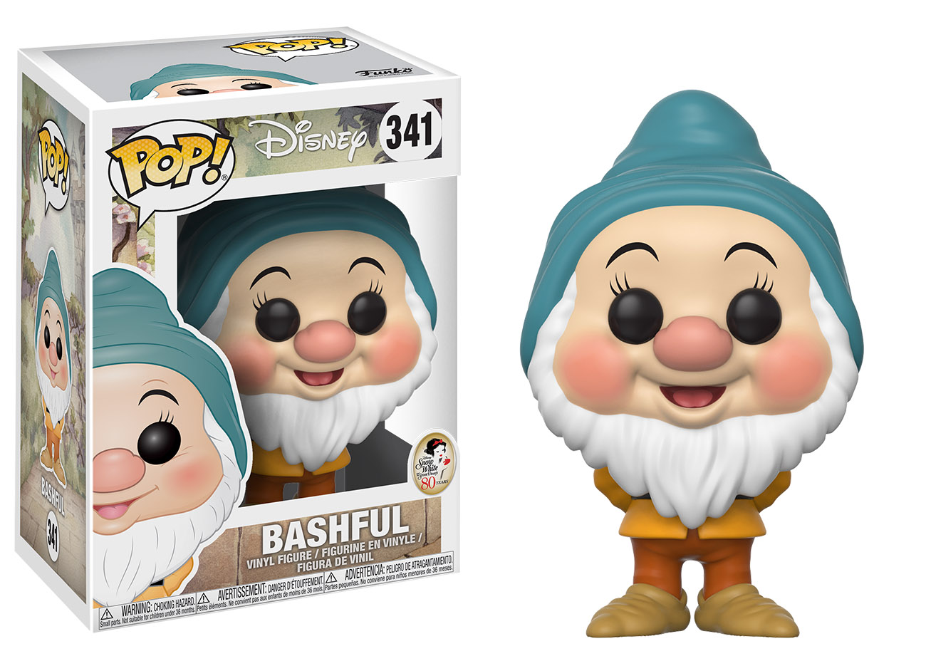 Photo du produit DISNEY FUNKO POP TIMIDE - BLANCHE NEIGE