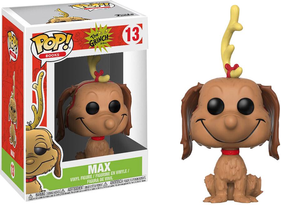 Photo du produit LE GRINCH FUNKO POP! MAX THE DOG