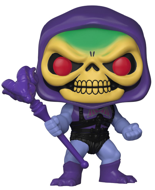 Photo du produit MASTERS OF THE UNIVERSE FUNKO POP SKELETOR