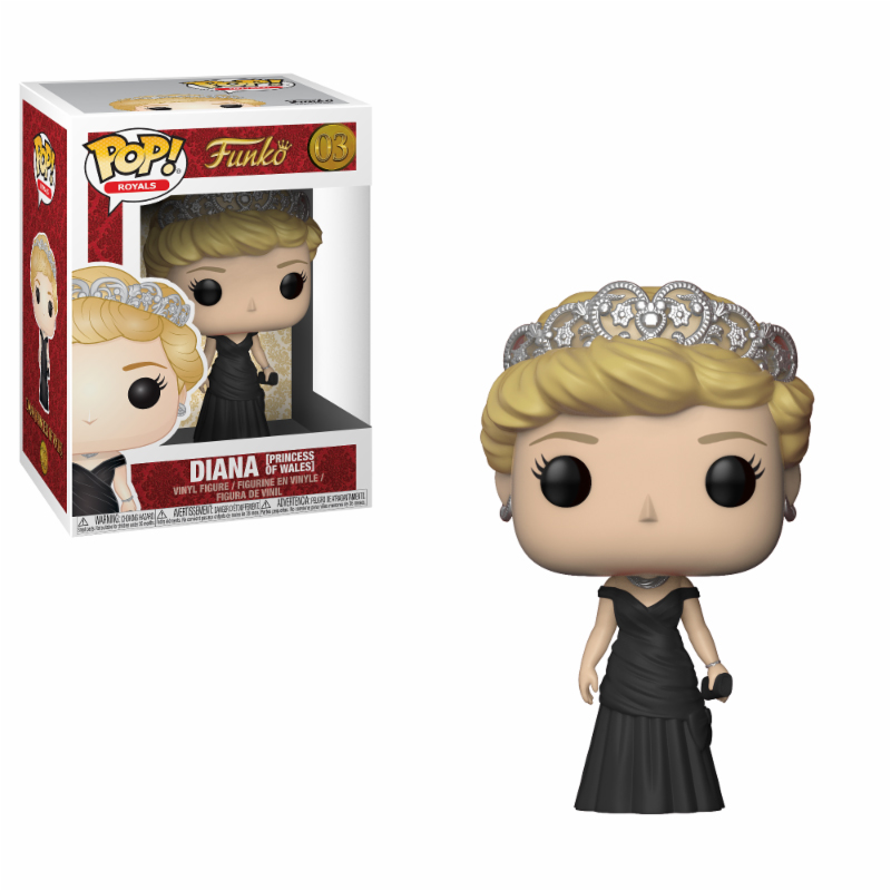 Photo du produit FUNKO POP ROYAL FAMILY PRINCESS DIANA