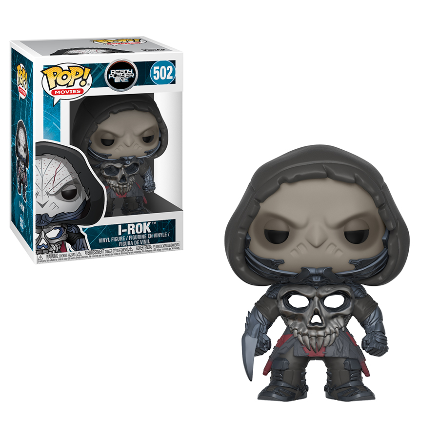 Photo du produit READY PLAYER ONE FUNKO POP MOVIES I-R0K
