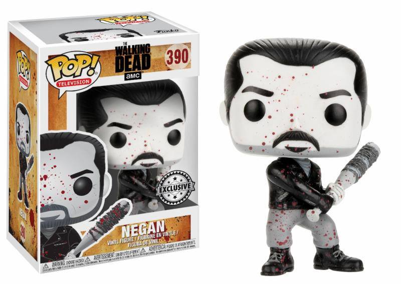 Photo du produit WALKING DEAD FUNKO POP! BLACK & WHITE NEGAN