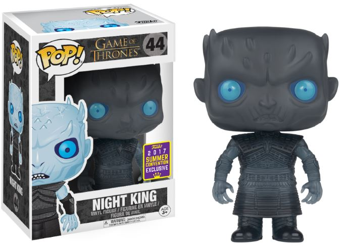 Photo du produit SDCC 2017 FUNKO POP TRANSLUCENT NIGHT KING EXCLUSIVE - GAME OF THRONES