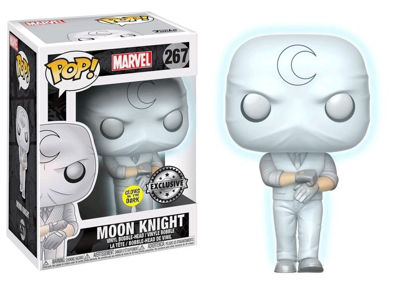 Photo du produit MARVEL COMICS FUNKO POP MOON KNIGHT GITD