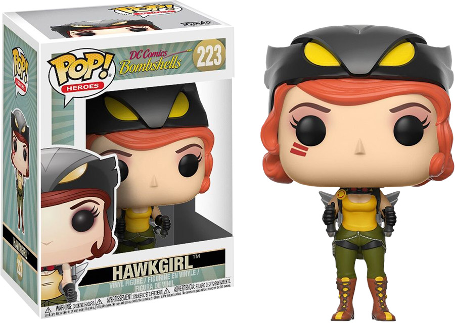 Photo du produit FUNKO POP HAWKGIRL DC BOMBSHELLS