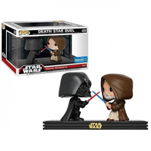 Photo du produit PACK 2 FUNKO POP STAR WARS MOVIE MOMENTS: DARTH VADER & OBI WAN KENOBI