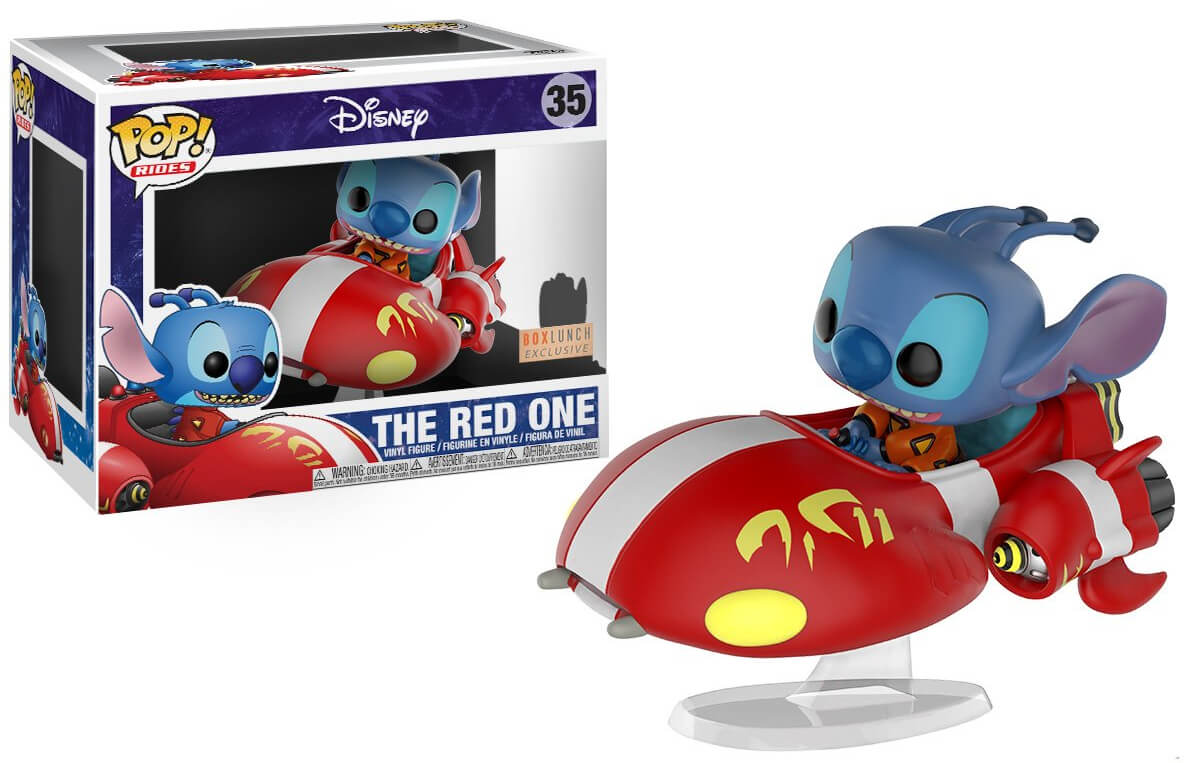 Photo du produit FIGURINE FUNKO POP! DISNEY LILO & STITCH THE RED ONE EXCLUSIVE