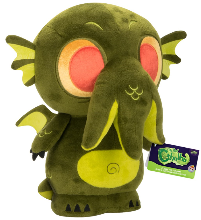 Photo du produit PELUCHE CTHULHU DARK GREEN 30.5CM - FUNKO