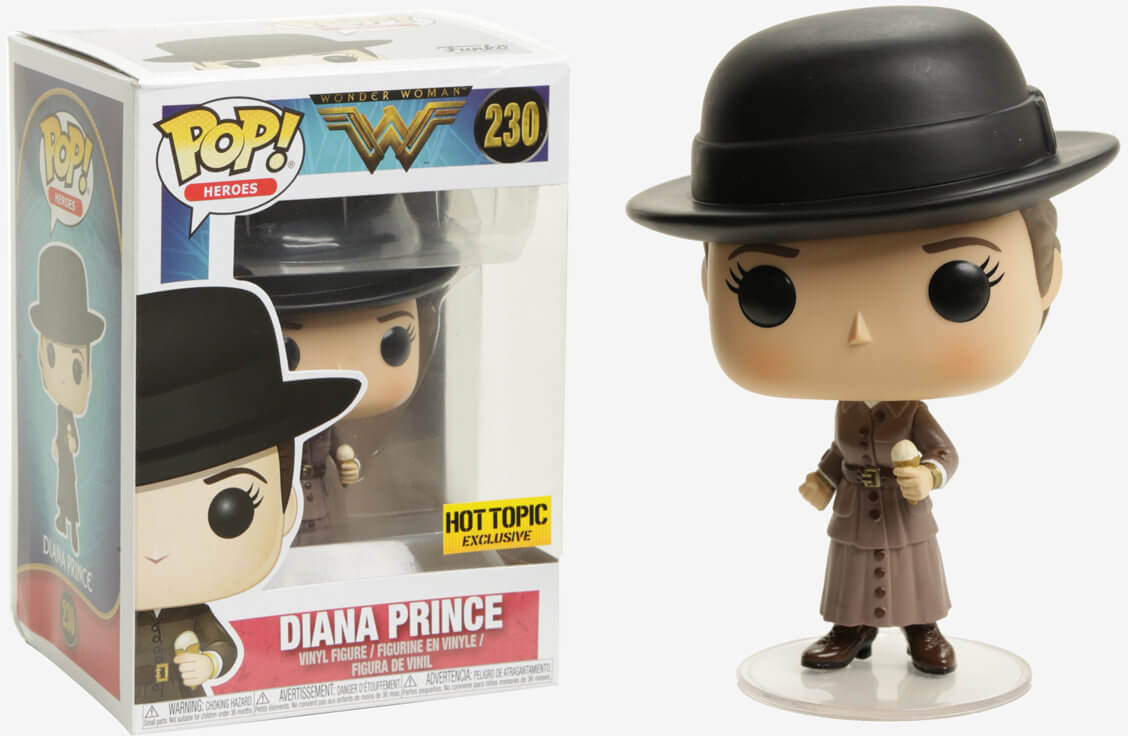 Photo du produit FUNKO POP WONDER WOMAN  DIANA WITH ICE CREAM