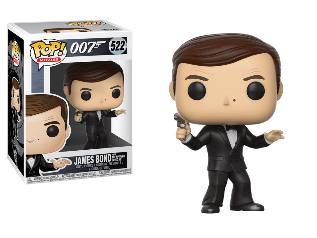 Photo du produit FUNKO POP JAMES BOND ROGER MOORE