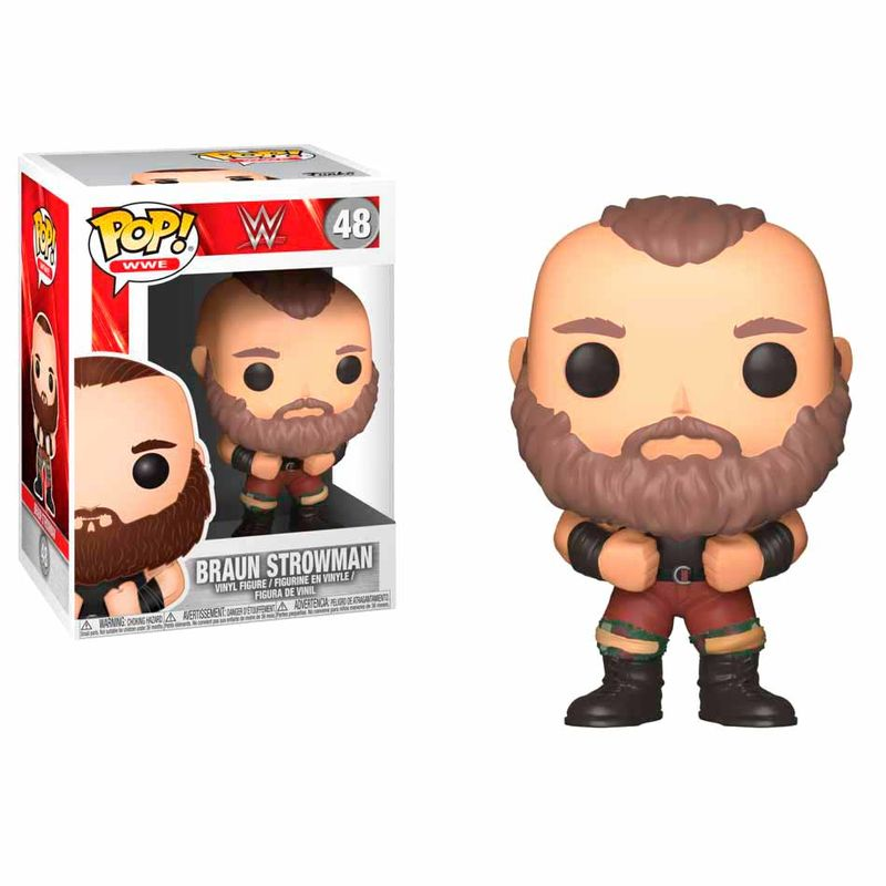 Photo du produit FIGURINE FUNKO POP! WWE BRAUN STROWMAN