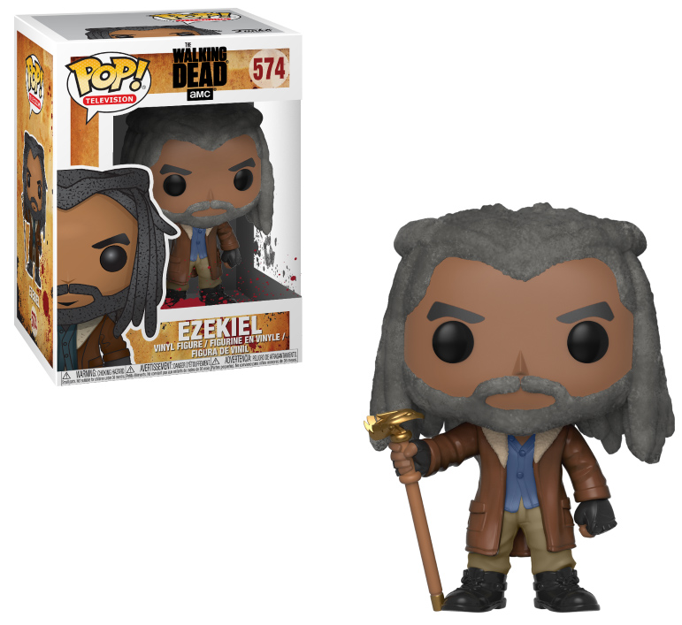 Photo du produit FUNKO POP WALKING DEAD EZEKIEL