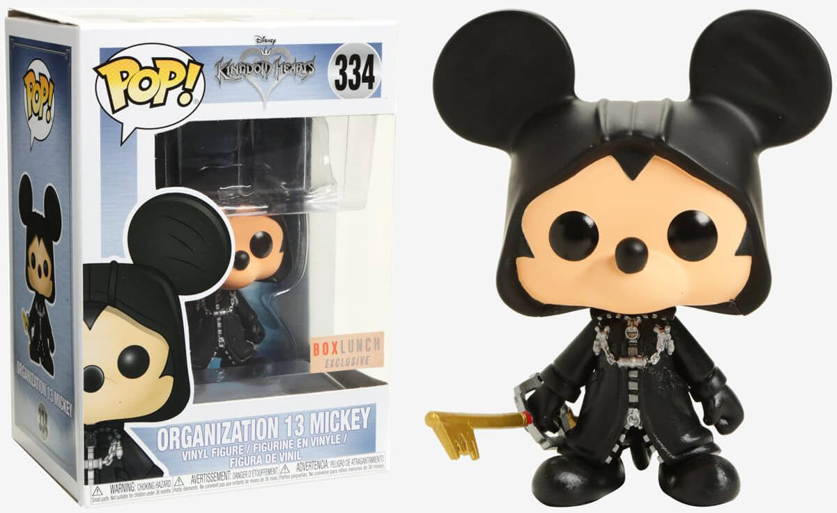 Photo du produit FUNKO KINGDOM HEARTS ORGANIZATION 13 MICKEY