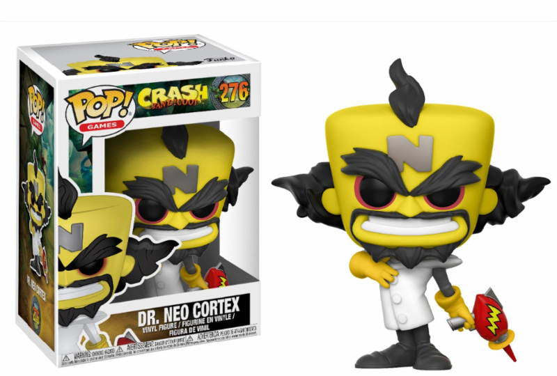 Photo du produit FUNKO POP CRASH BANDICOOT NEO CORTEX