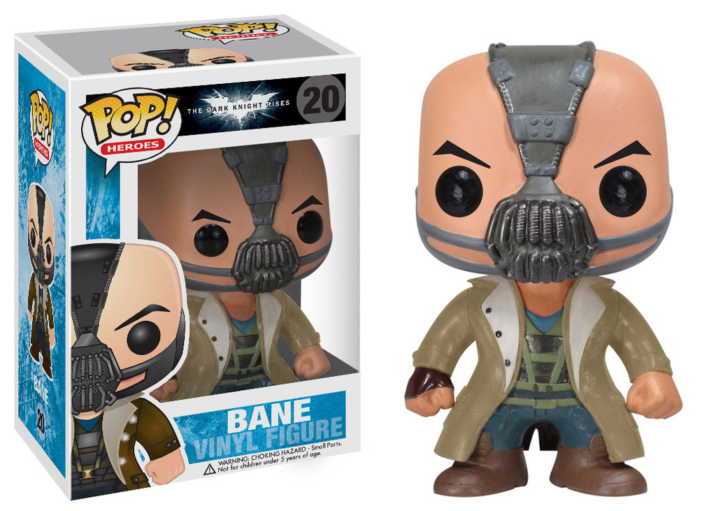 Photo du produit THE DARK KNIGHT RISES FIGURINE FUNKO POP! BANE