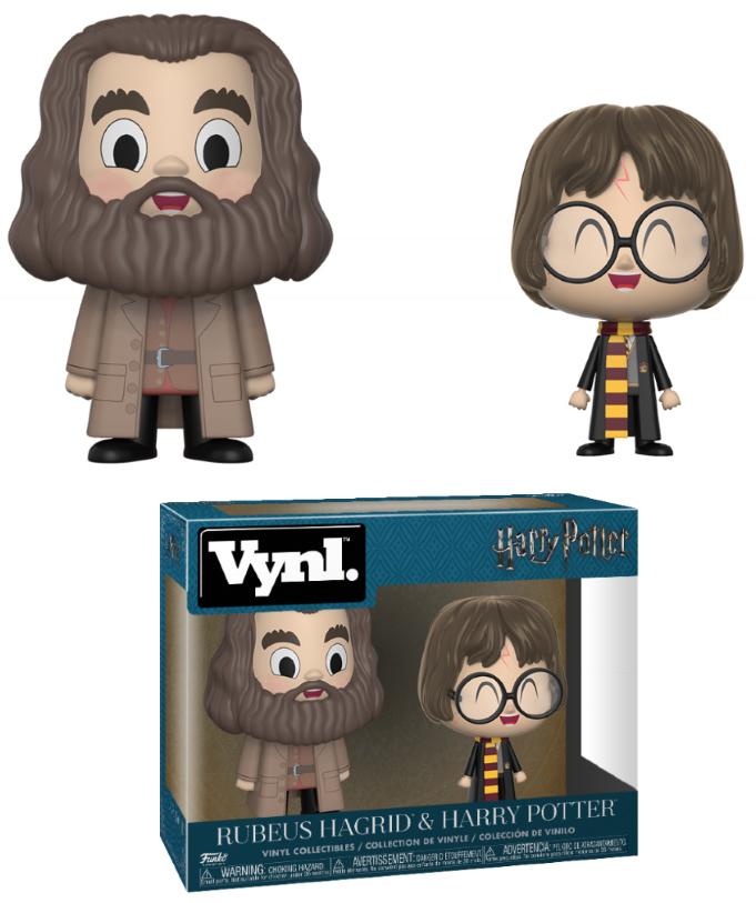 Photo du produit HARRY POTTER PACK 2 VYNL FIGURINES HAGRID & HARRY
