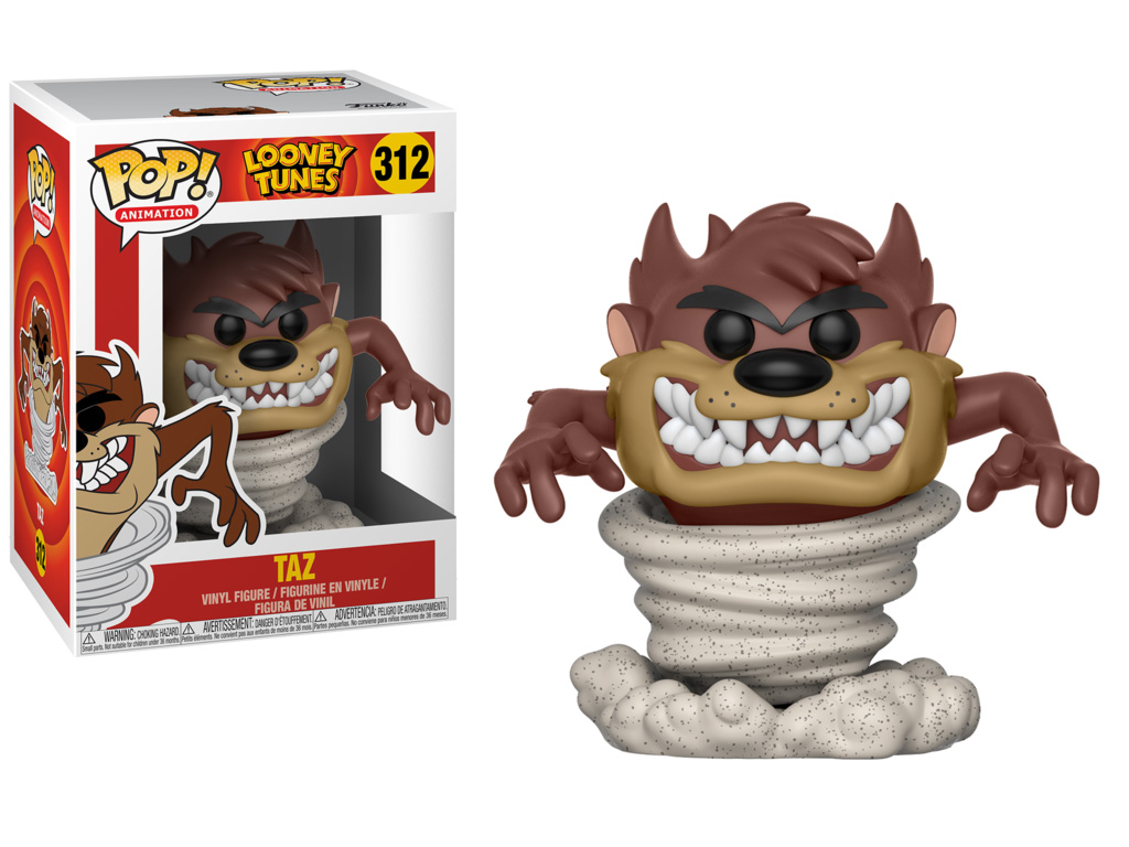 Photo du produit FIGURINE FUNKO POP LOONEY TUNES TORNADO TAZ