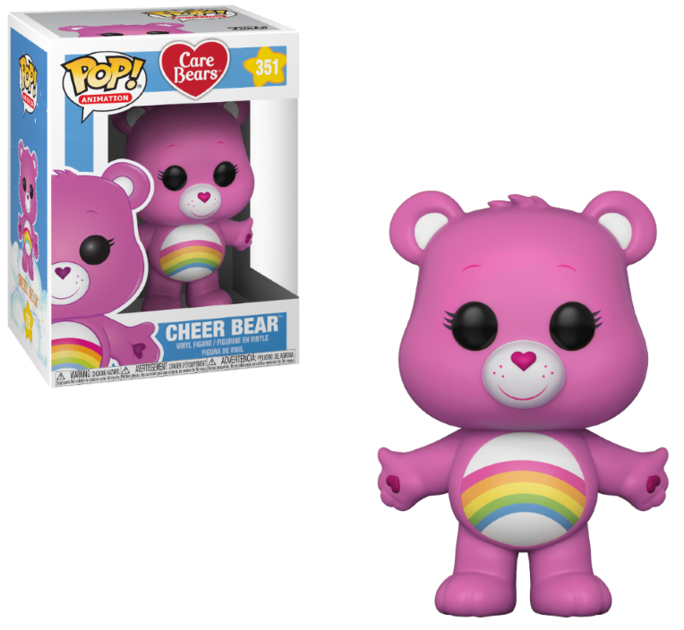 Photo du produit BISOUNOURS FUNKO POP CARE BEARS CHEER BEAR