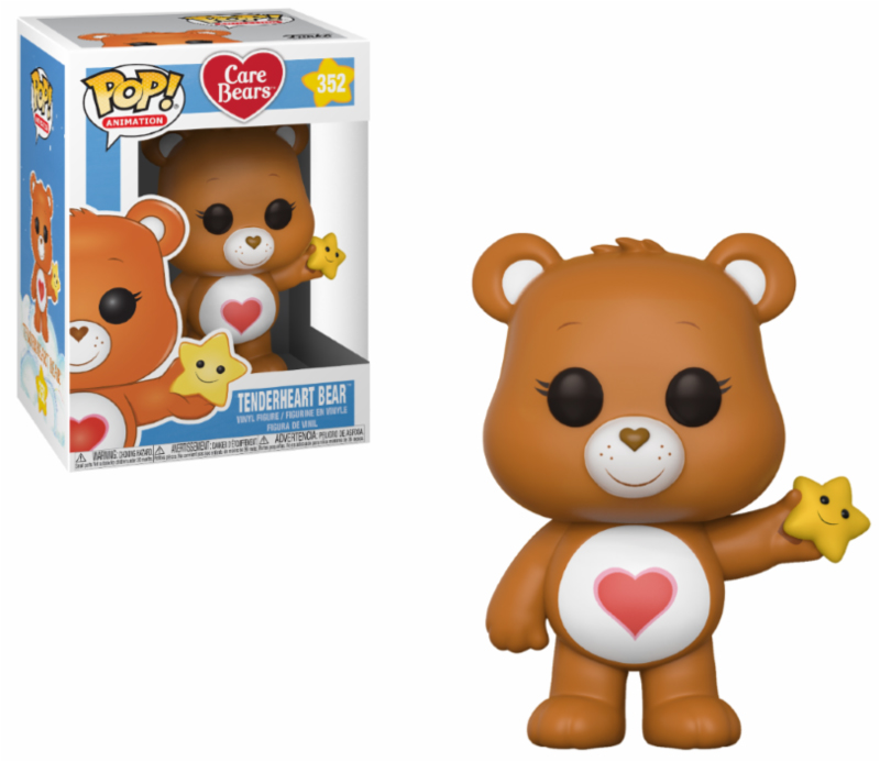 Photo du produit BISOUNOURS FUNKO POP CARE BEARS TENDERHEART BEAR