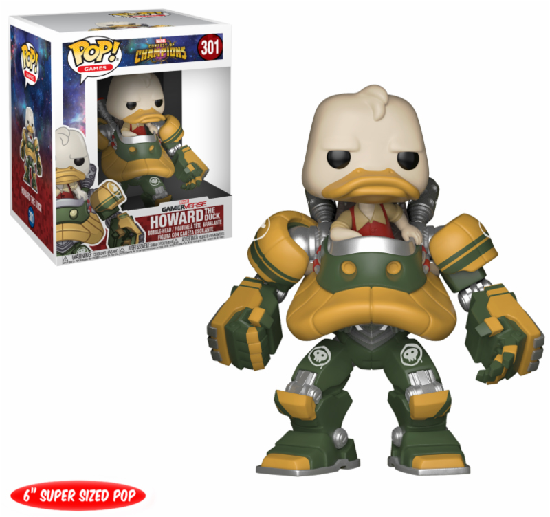 Photo du produit MARVEL TOURNOI DES CHAMPIONS FUNKO POP! HOWARD THE DUCK