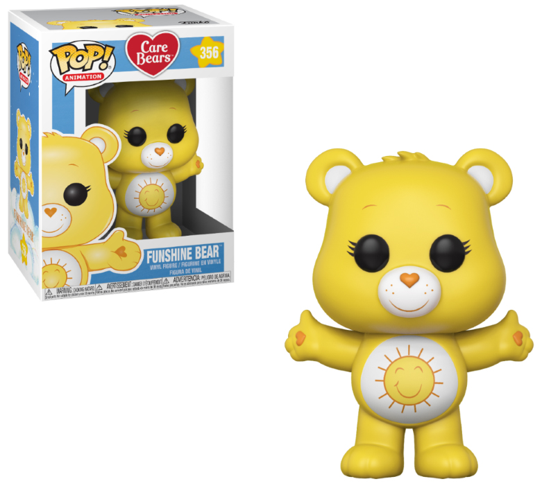 Photo du produit BISOUNOURS FUNKO POP CARE BEARS FUNSHINE BEAR