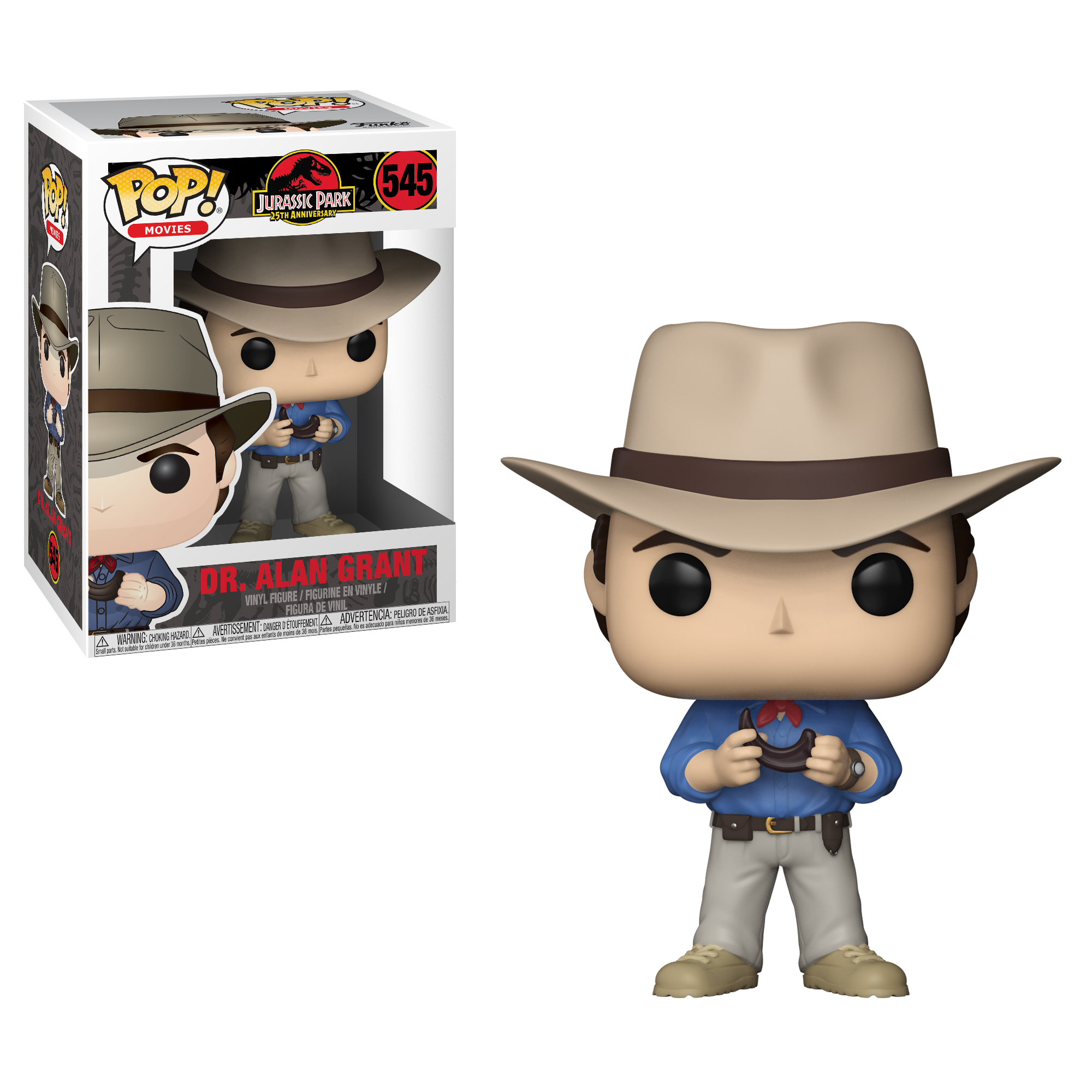 Photo du produit FIGURINE FUNKO POP JURASSIC PARK DR. ALAN GRANT